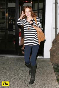 Lindsay Lohan en marinière