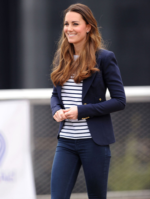 Kate Middleton en Marinière